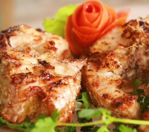Cá trắm nướng riềng mẻ thơm và ngon nhất