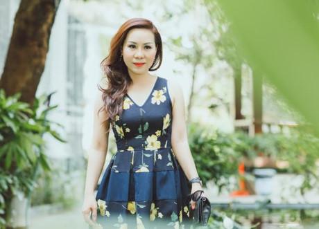 Nu hoang Kim Chi dien dam hoa noi bat trong su kien - Anh 6