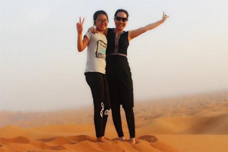 Nu hoang Kim Chi choang ngop voi do giau co cua Dubai - Anh 10
