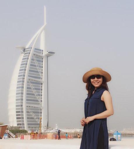 Nu hoang Kim Chi choang ngop voi do giau co cua Dubai - Anh 3