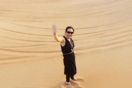 Nu hoang Kim Chi choang ngop voi do giau co cua Dubai - Anh 7