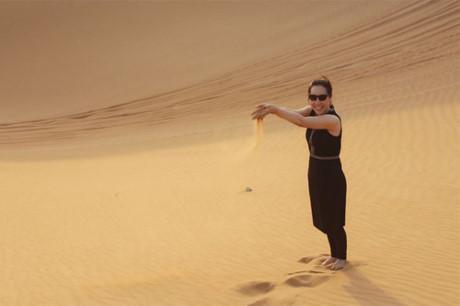 Nu hoang Kim Chi choang ngop voi do giau co cua Dubai - Anh 8