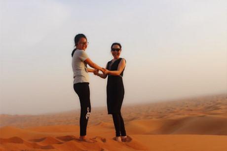 Nu hoang Kim Chi choang ngop voi do giau co cua Dubai - Anh 9